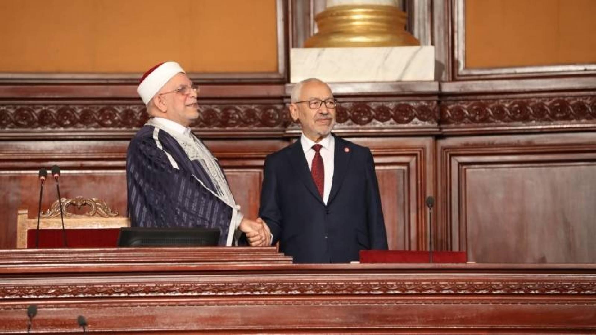 راشد الغنوشي رئيساً للبرلمان التونسي