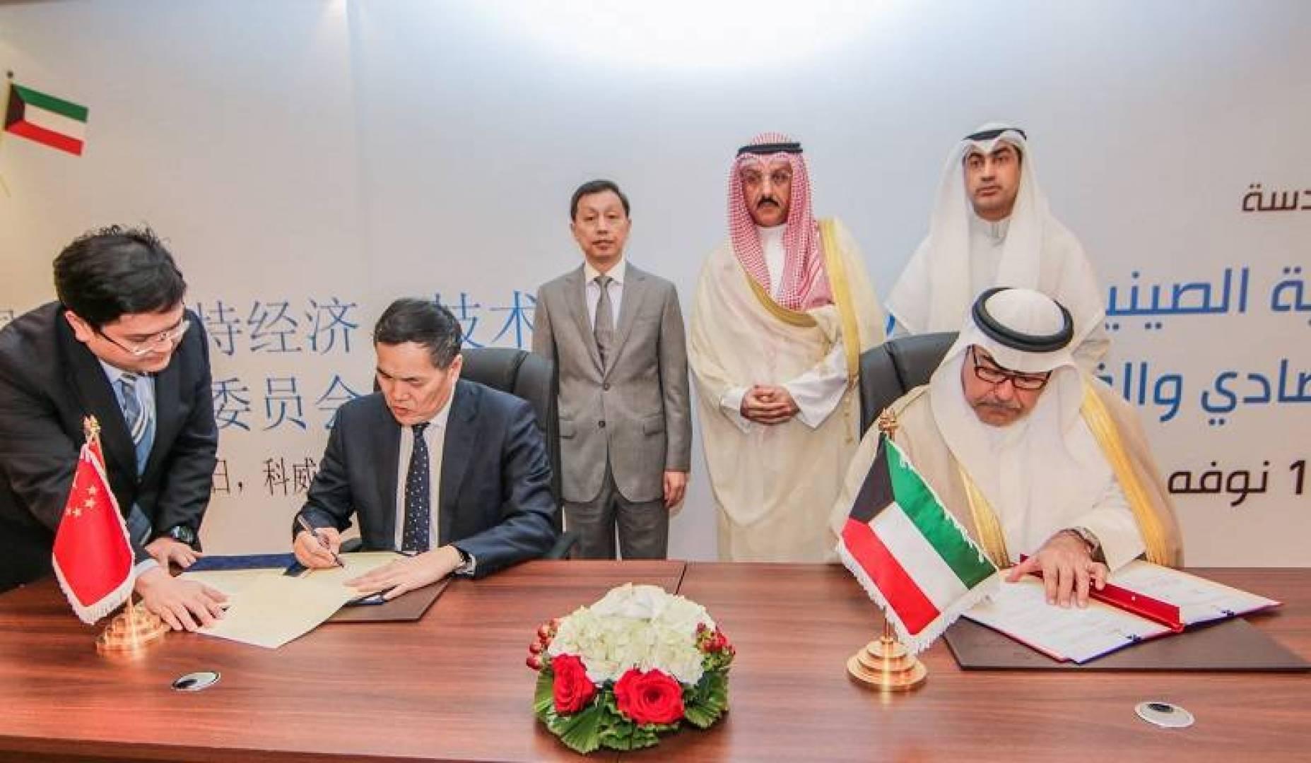 وزارة المالية: 18.7 مليار دولار.. التبادل التجاري بين الكويت والصين