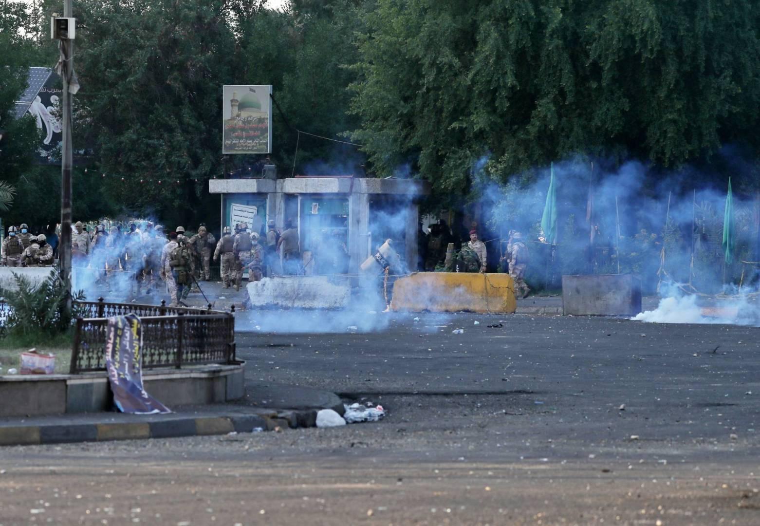 مقتل 4 اشخاص وإصابة 20 بانفجار قرب ساحة التحرير وسط بغداد