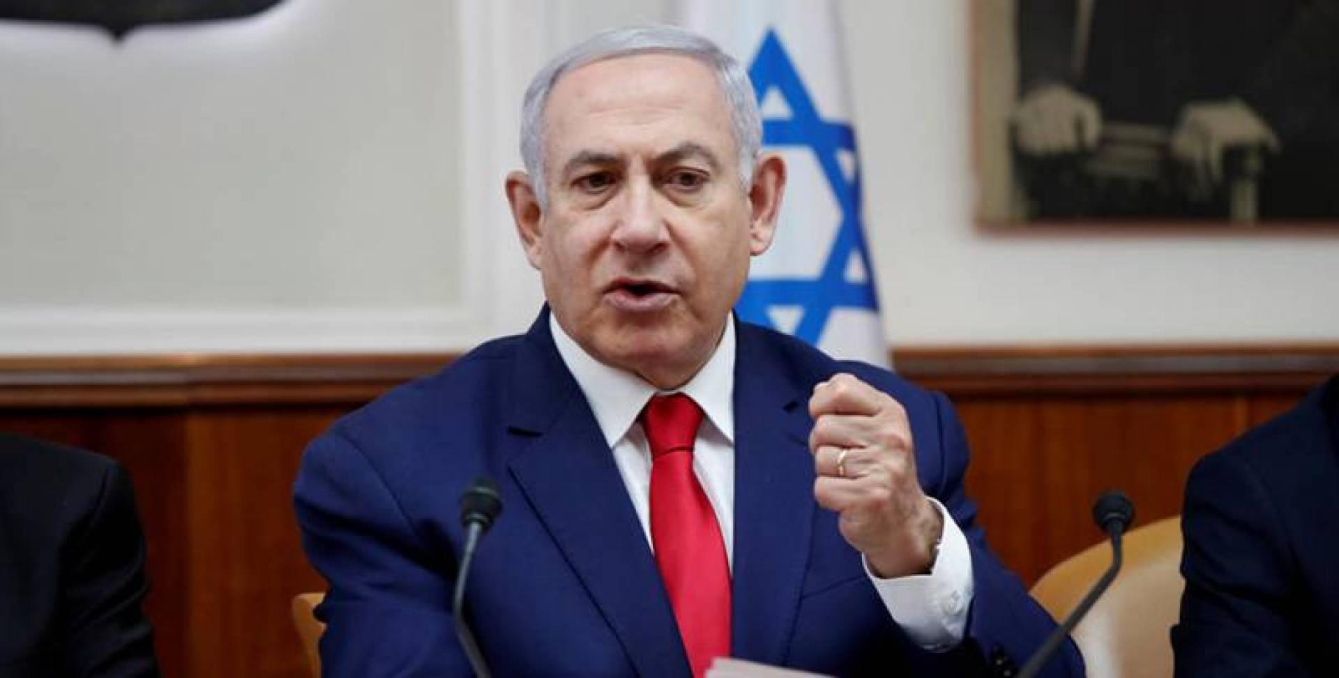نتانياهو يشن حملة عنصرية ضد العرب ونوابهم