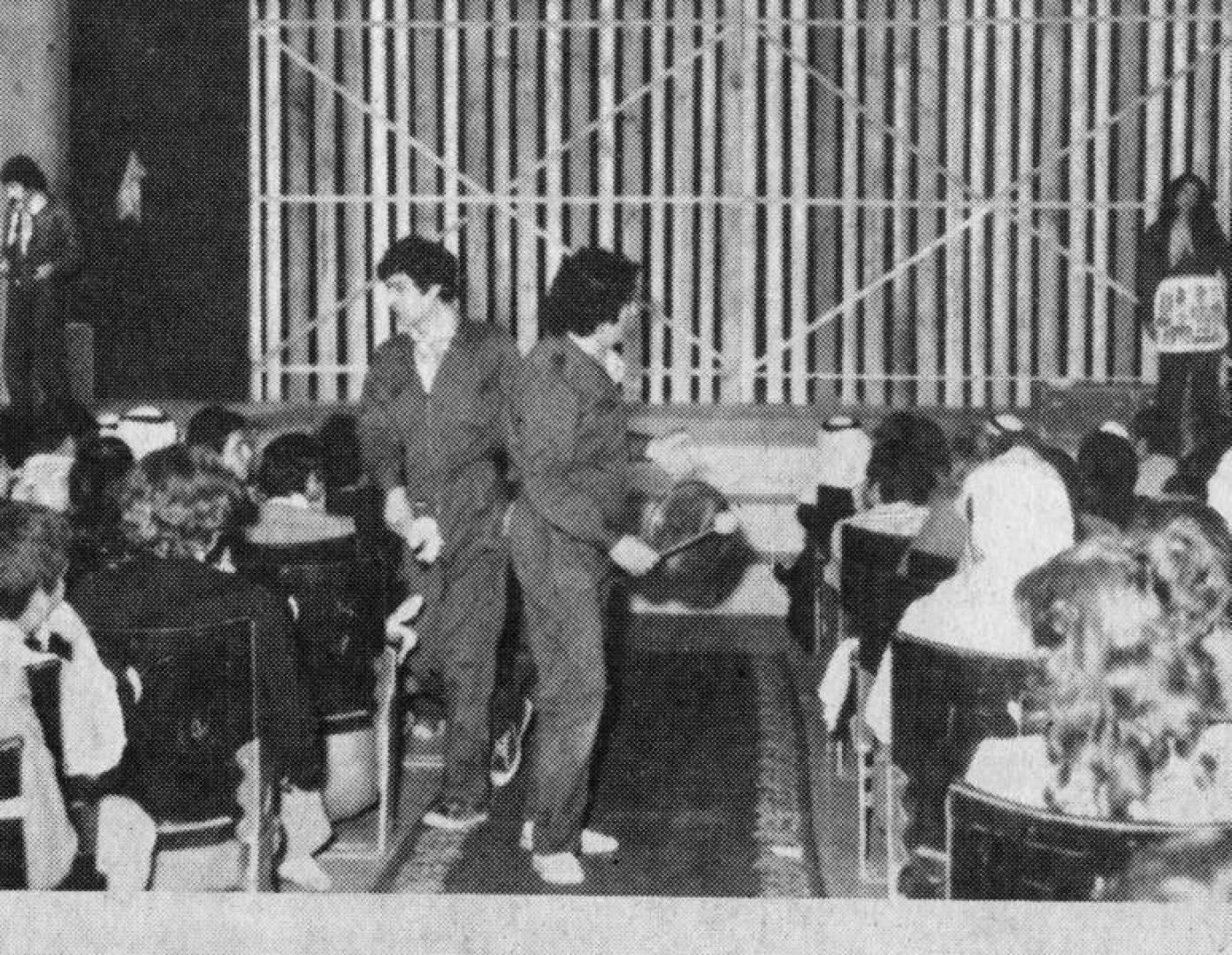 1980| «ثلاث حكايات» انتقادية للمسرح التجريبي السوري