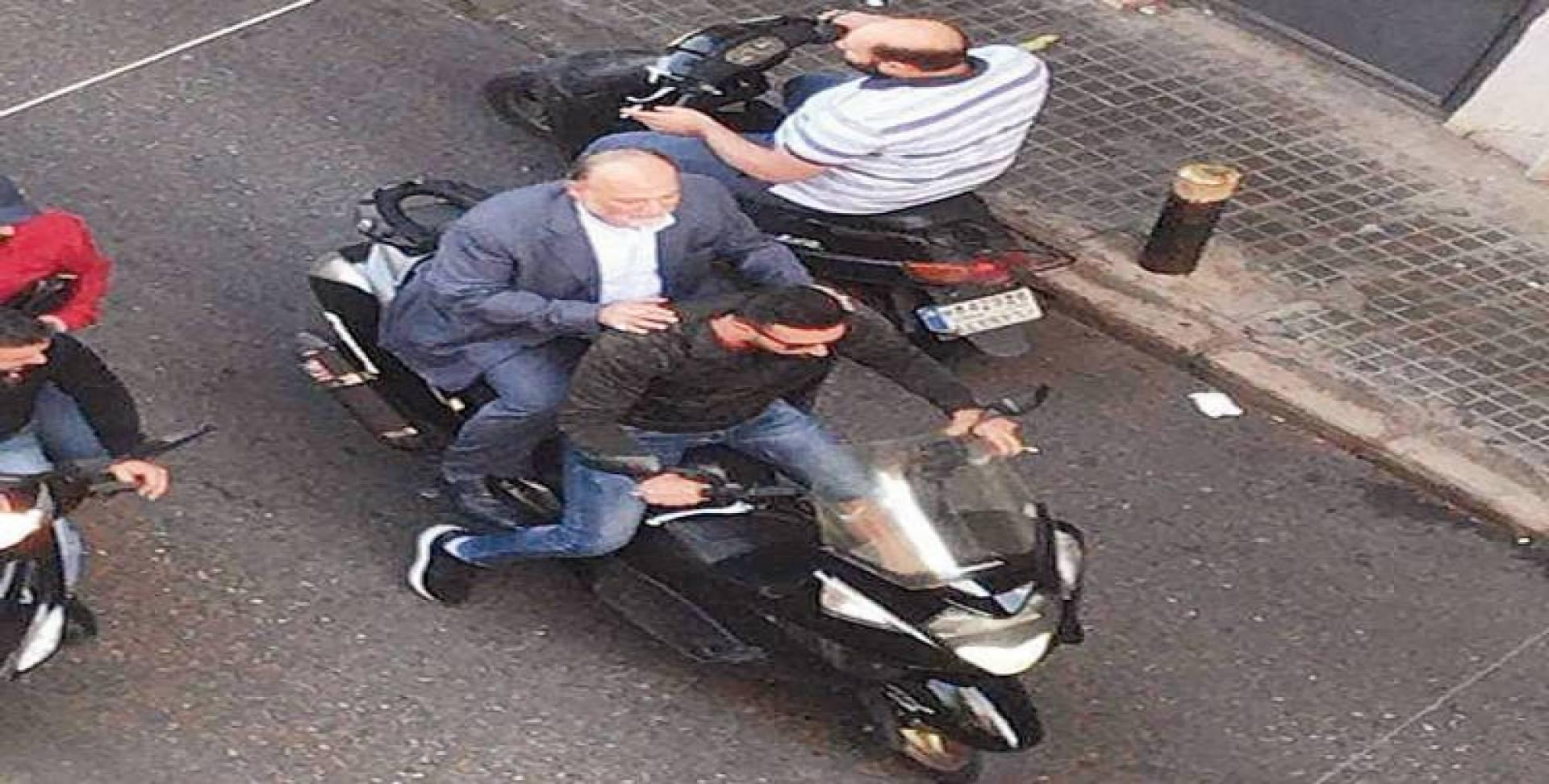 عمار يحاول الدخول إلى البرلمان على دراجة نارية | انترنت