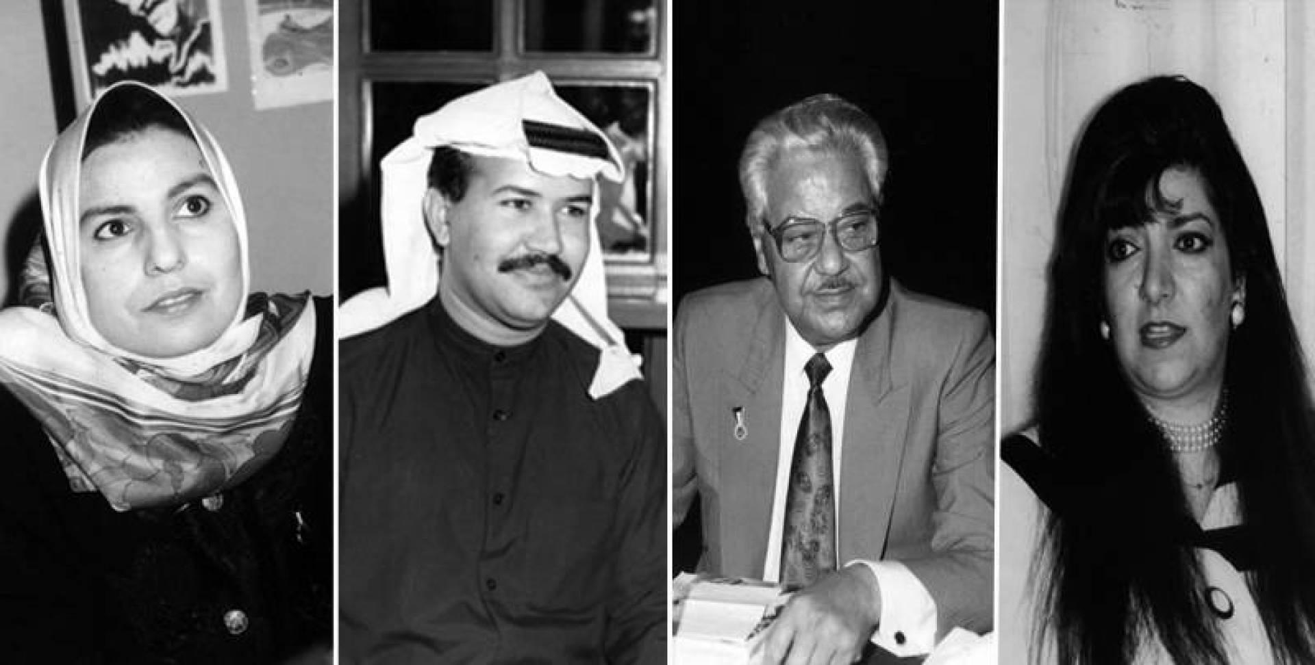جنة القريني ويعقوب الرشيد وناصر الظفيري وسعدية مفرح.. صور أرشيفية