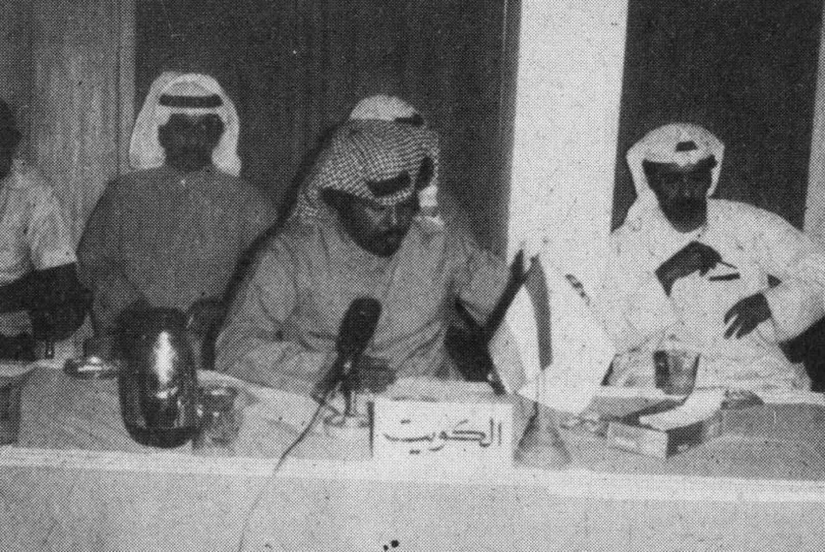 وفد الكويت الإداري في اجتماعات رؤساء الوفود.. أرشيفية