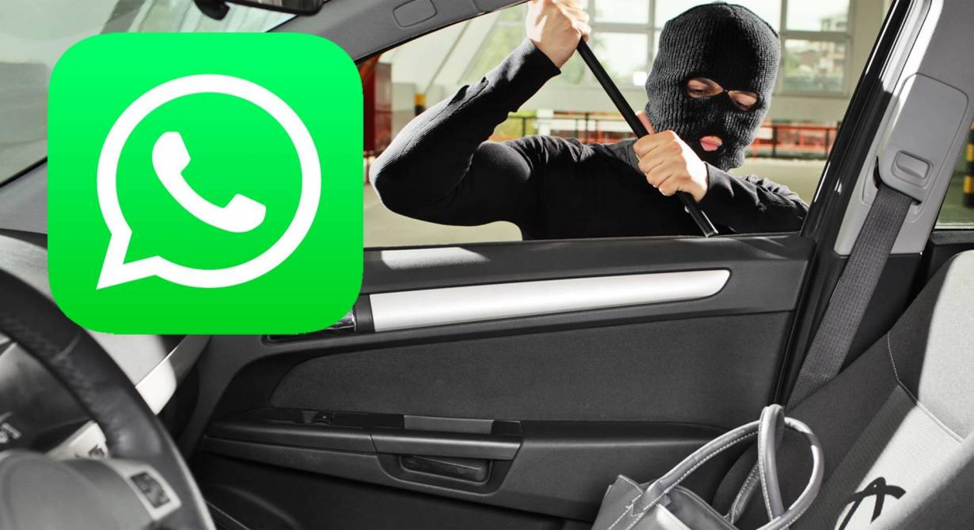 آخر إبتكارات المجرمين.. استخدام «الواتساب» لسرقة السيارات