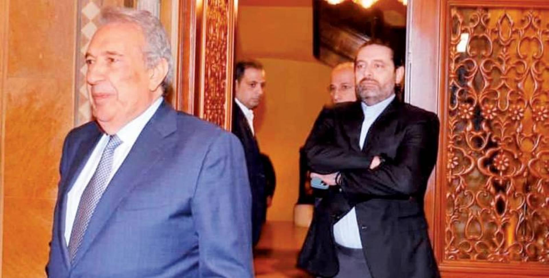 الخطيب مغادرا بيت الوسط بعد لقائه الحريري واعلان انسحابه من السباق | انترنت