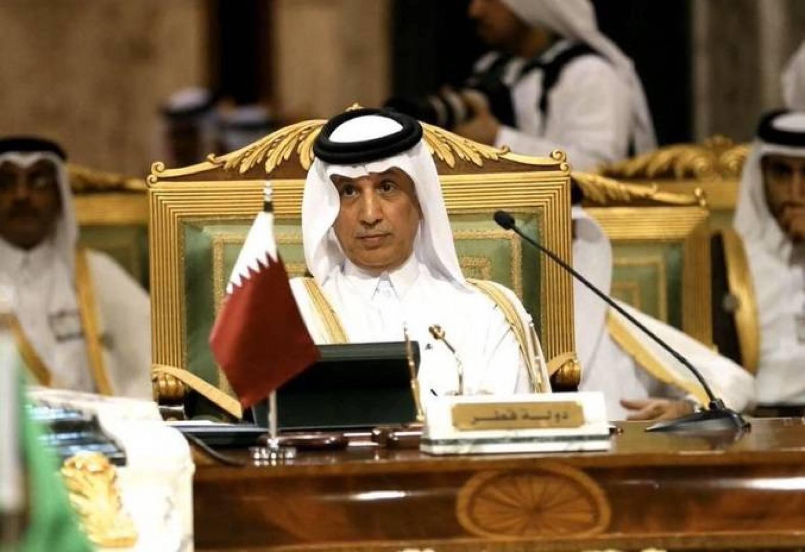 وكالة الأنباء القطرية: وزير الدولة القطري للشؤون الخارجية يصل إلى الرياض