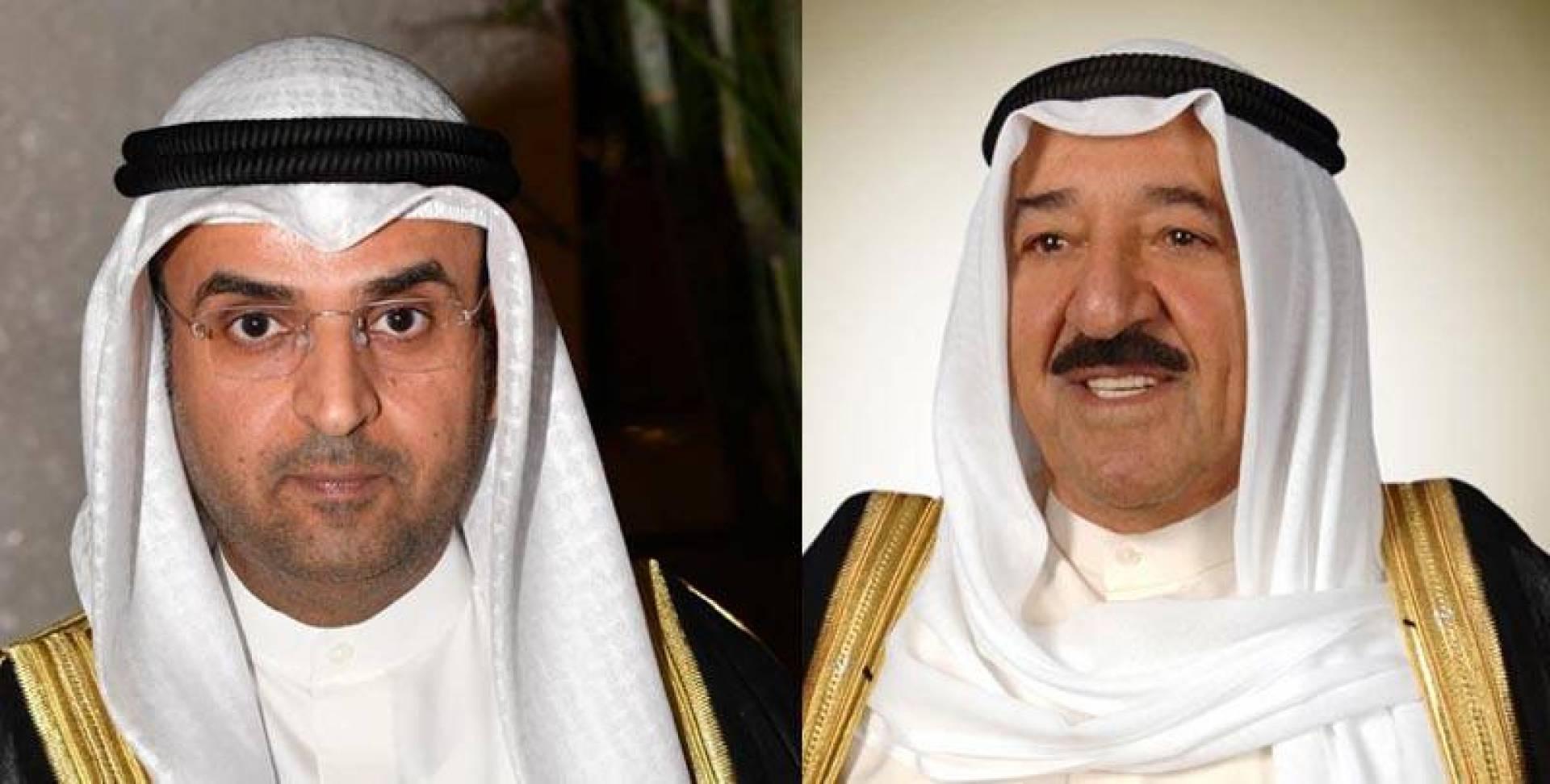 سمو الأمير يهنئ الحجرف بتعيينه أميناً عاماً لمجلس التعاون