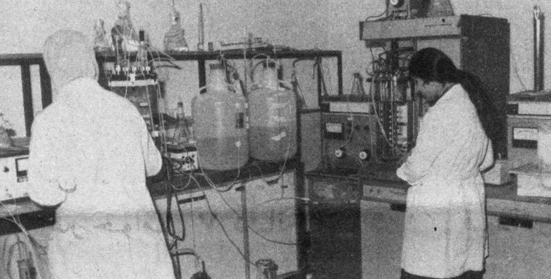 غرفة التخمير بالمرحلة الأولى من مشروع البروتين الغذائي