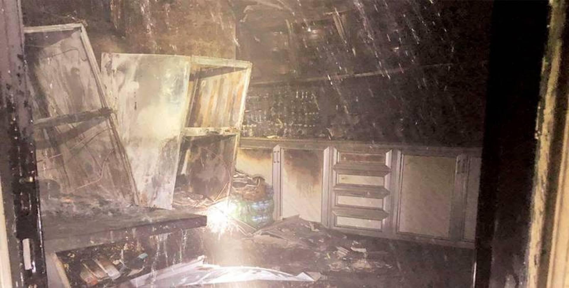 حريق التهم منزلًا