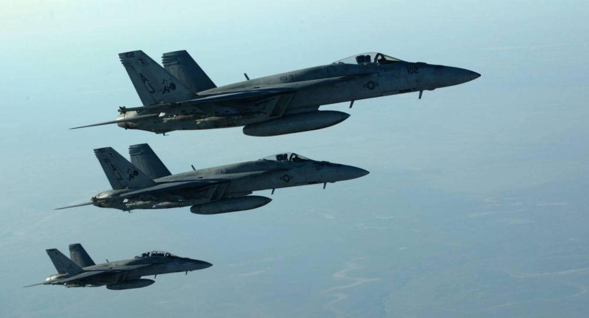 التحالف بقيادة أميركا ينفي تنفيذ أي غارات جوية على منطقة التاجي شمال بغداد
