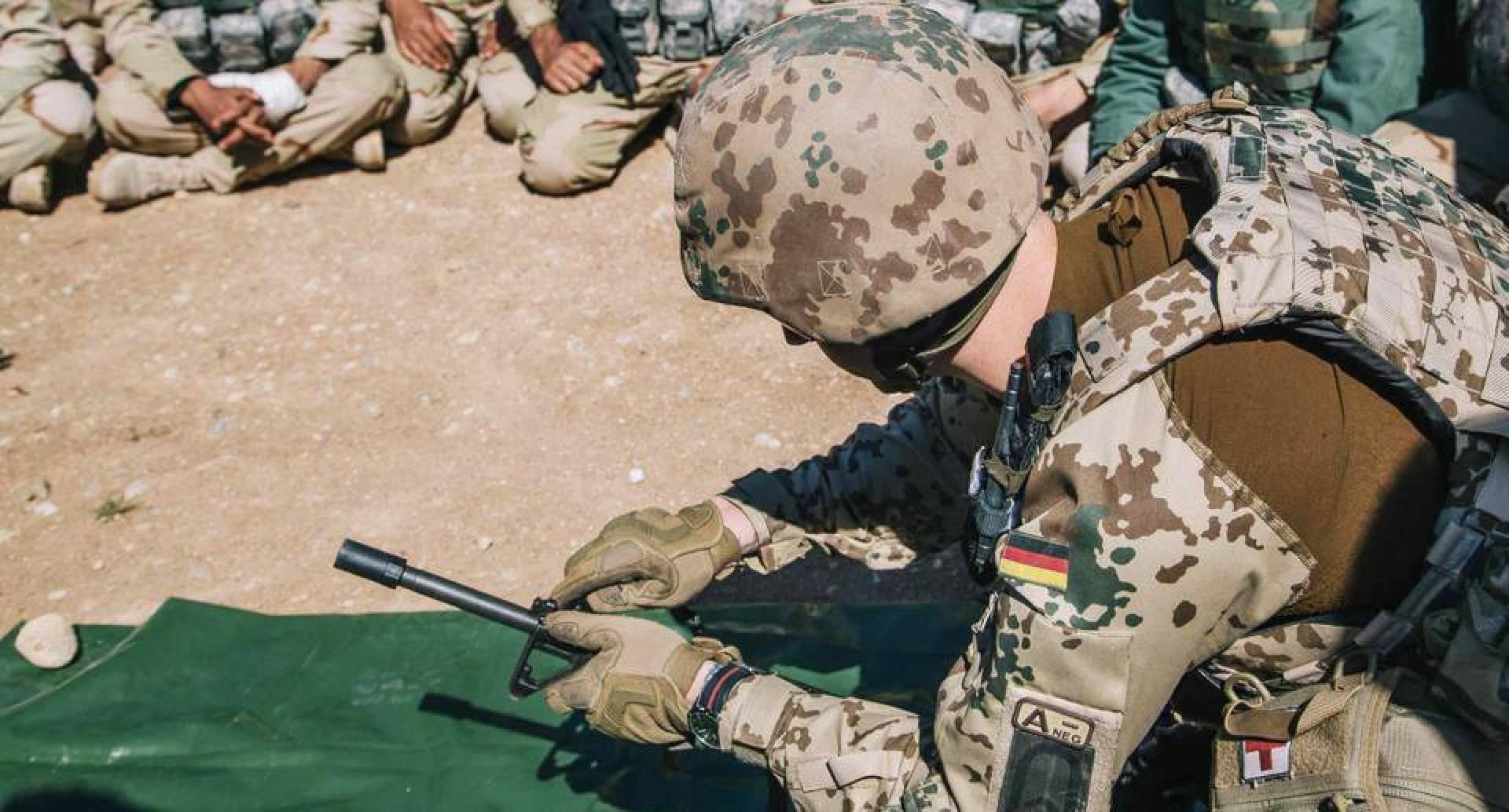 الجيش الألماني: الولايات المتحدة وحلفاؤها علقوا تدريب القوات العراقية