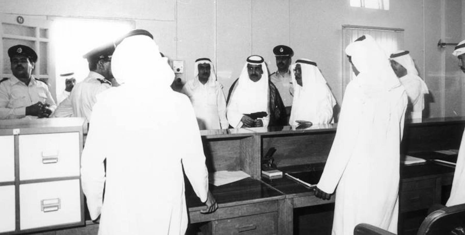 محافظ الجهراء عبدالرحمن المجحم يتفقد إدارة الجوازات بالمحافظة.. أرشيفية