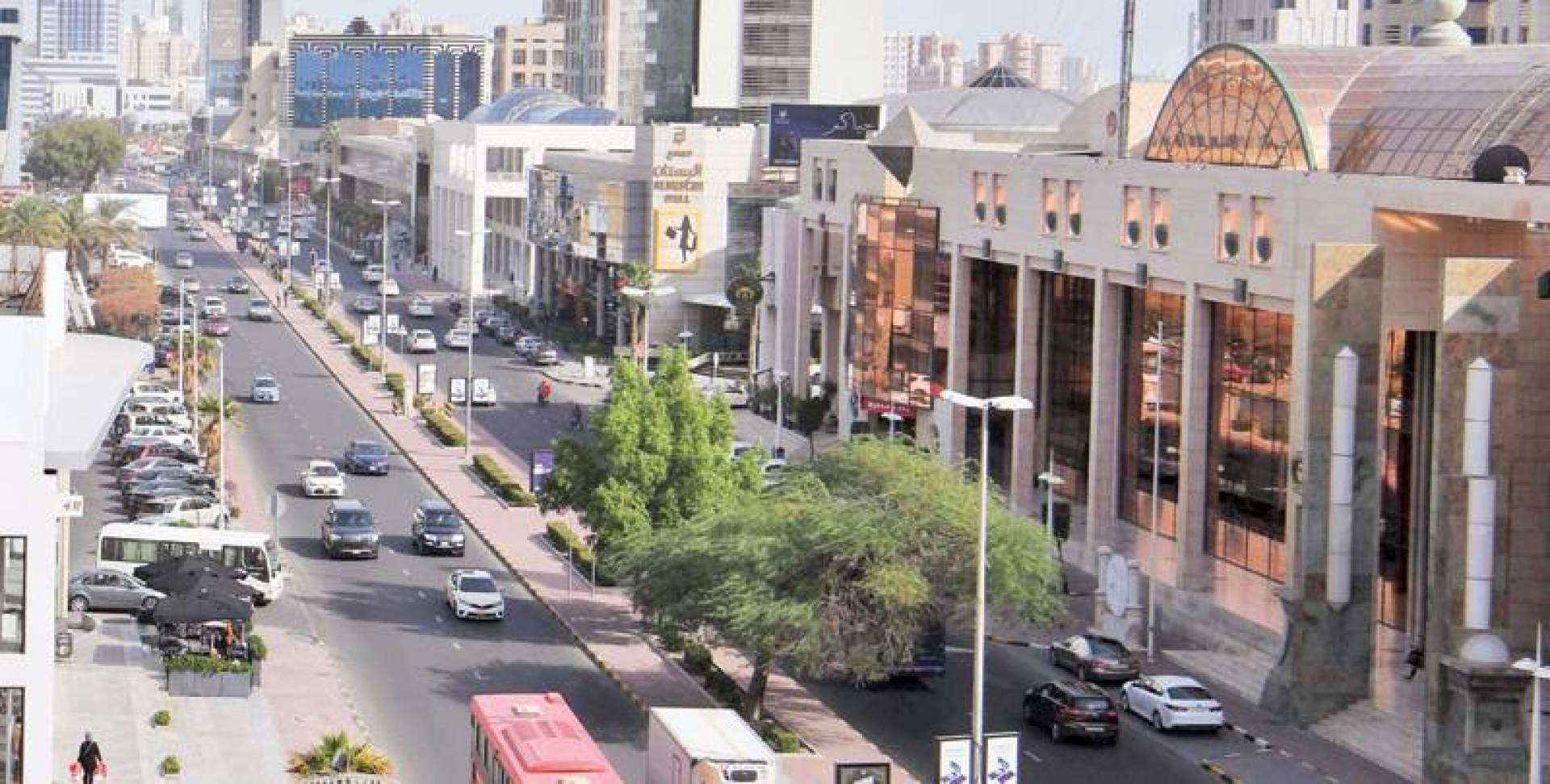 شارع سالم المبارك | تصوير حسني هلال