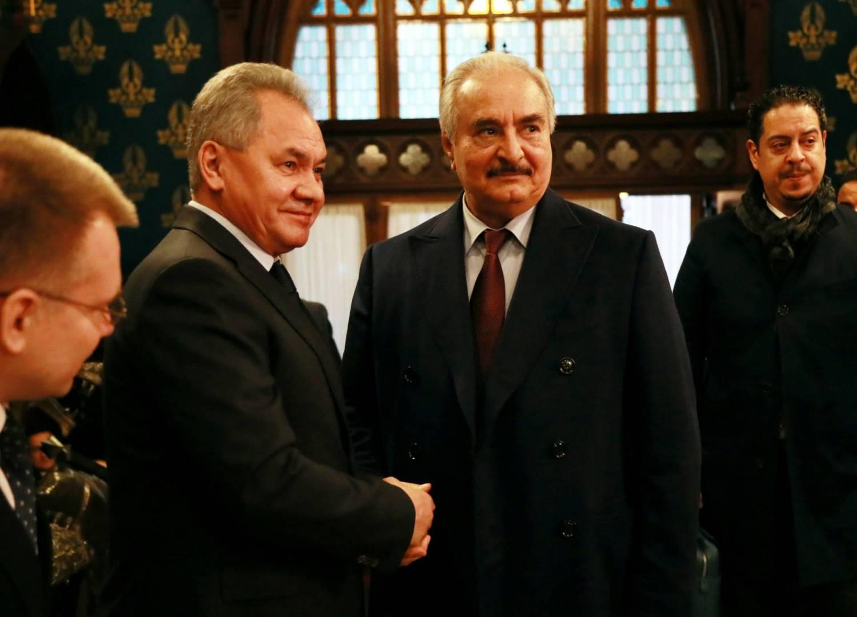 حفتر غادر موسكو دون التوقيع على اتفاق لوقف إطلاق النار