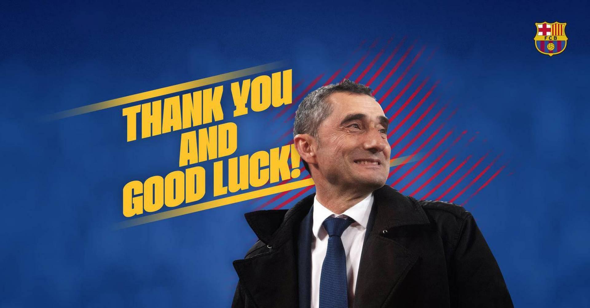 رسمياً.. برشلونة يعلن إقالة فالفيردي