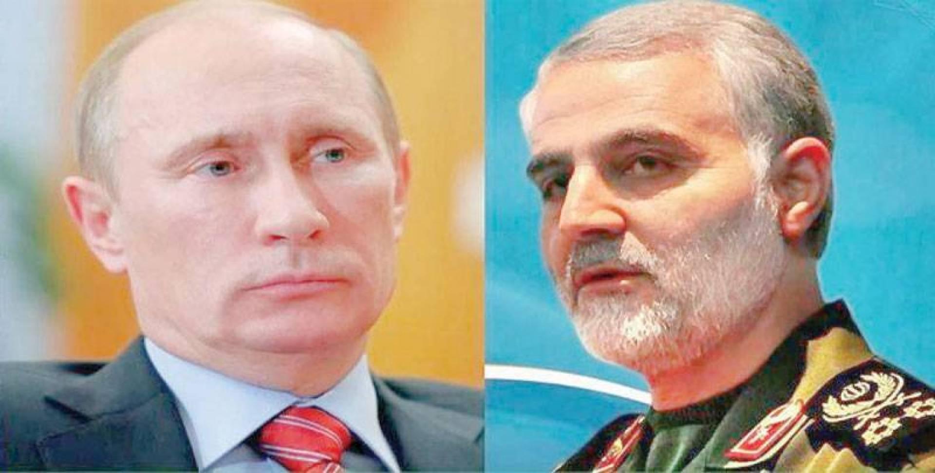 سليماني - بوتين