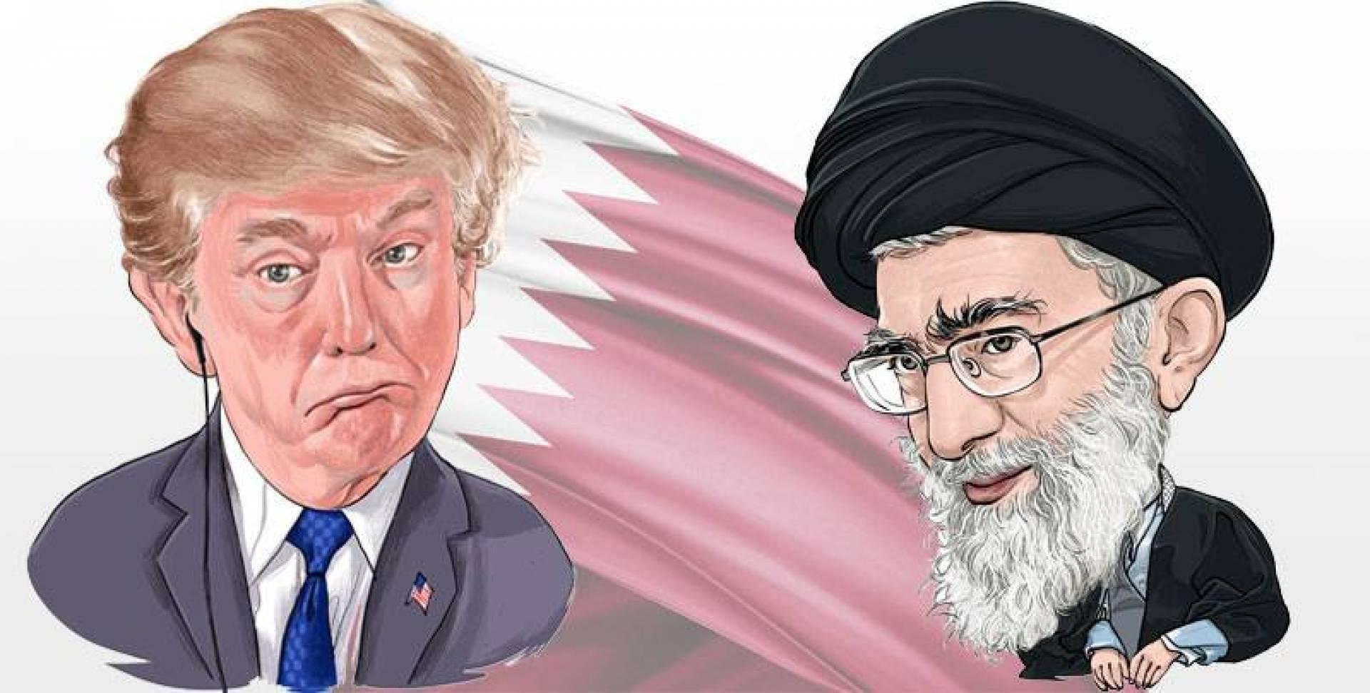 قطر تلعب دور الإطفائي