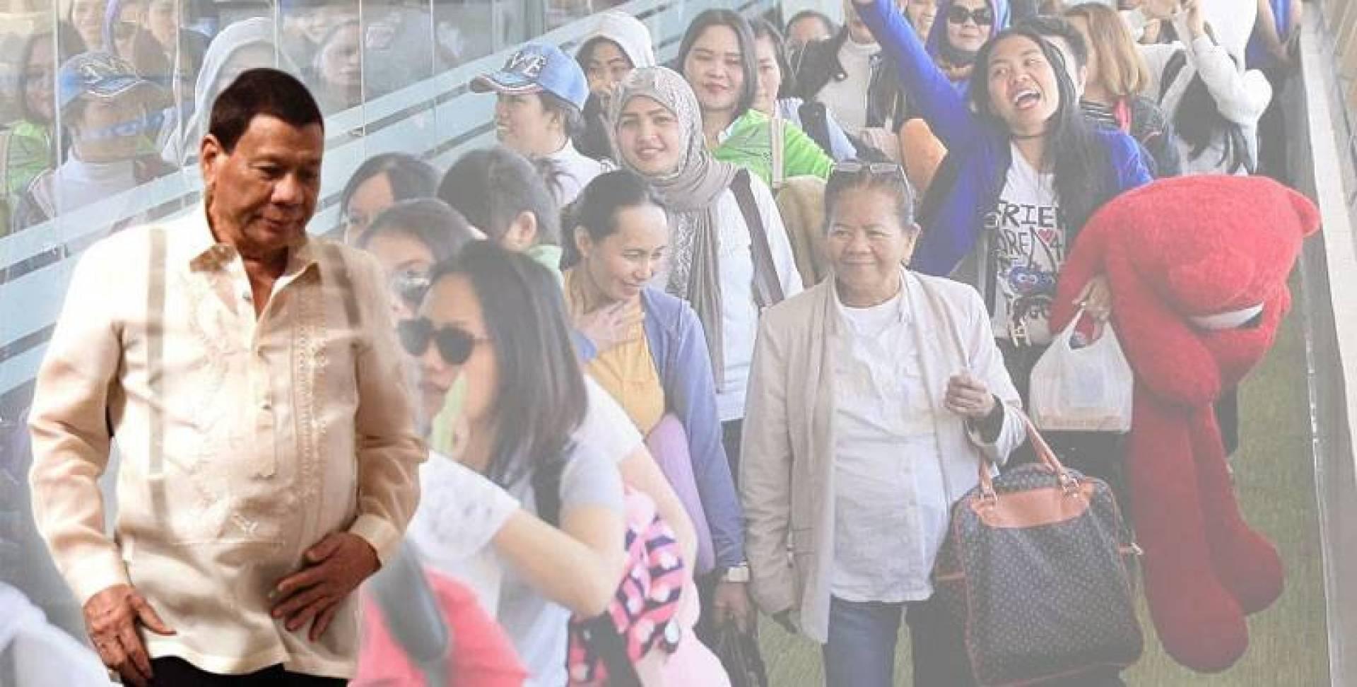 الفلبين: 3 شروط لوقف حظر العمالة