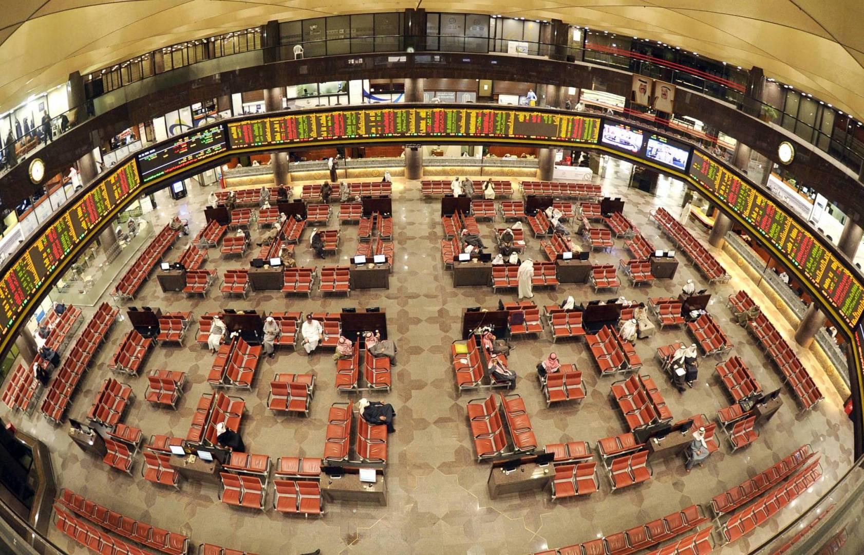 بورصة الكويت تنهي تعاملاتها على انخفاض المؤشر العام 10.48 نقطة