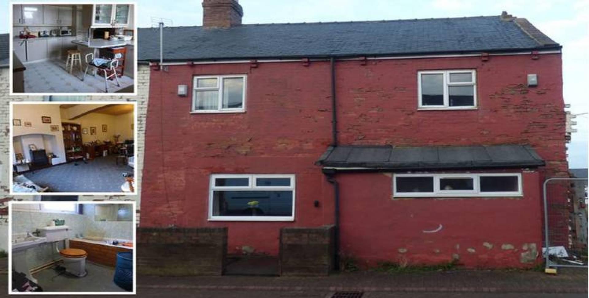 منزل للبيع في بريطانيا بسعر 500 جنيه إسترليني.. فقط