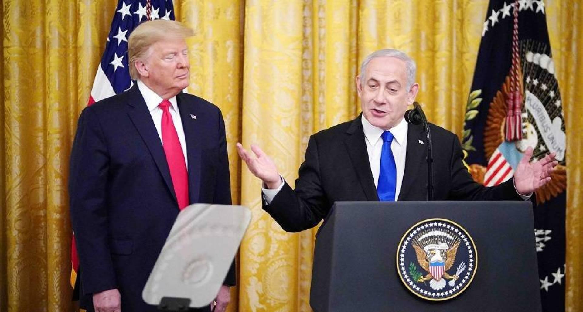 نتنياهو: العاصمة الفلسطينية المقترحة في خطة ترامب للسلام ستكون في أبو ديس