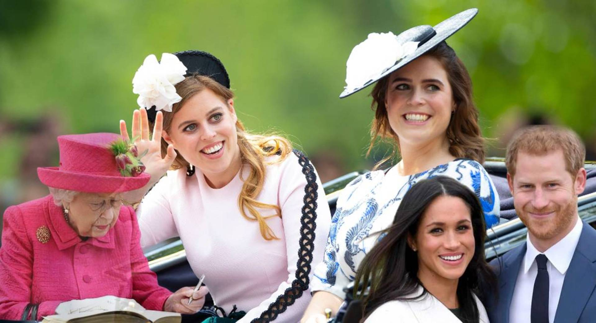 الملكة إليزابيث تستدعي الأميرتين بياتريس ويوجيني للقيام بمهام هاري وميغان