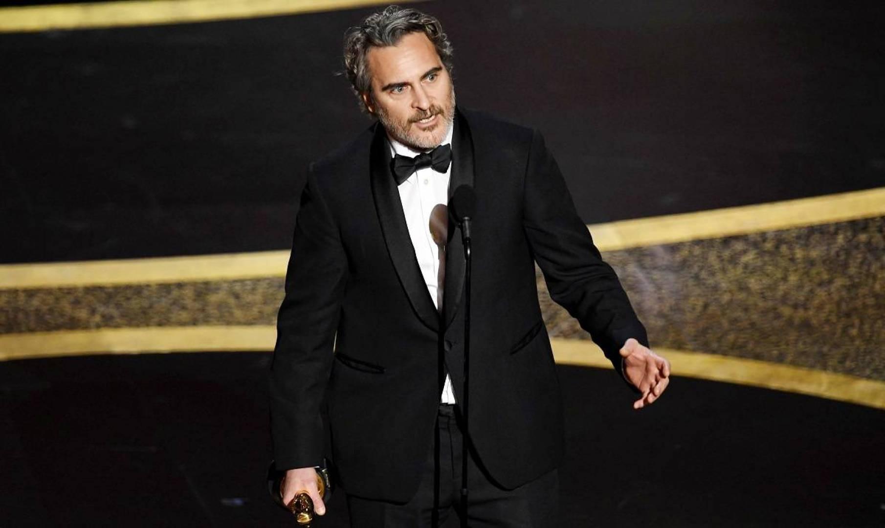 خواكين فينكس يفوز بأوسكار أفضل ممثل عن فيلم «الجوكر»