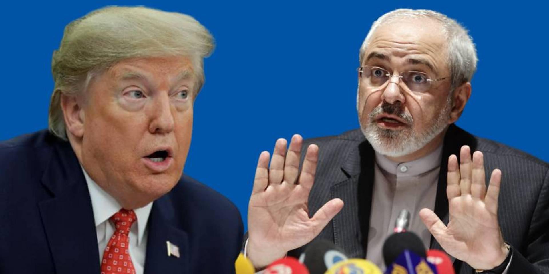ظريف: سياسات ترامب المضللة جعلت المنطقة على حافة الهاوية
