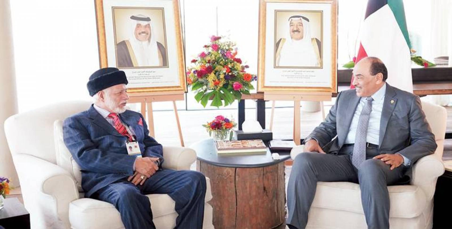 الخالد مستقبلاً  وزير خارجية عمان | كونا