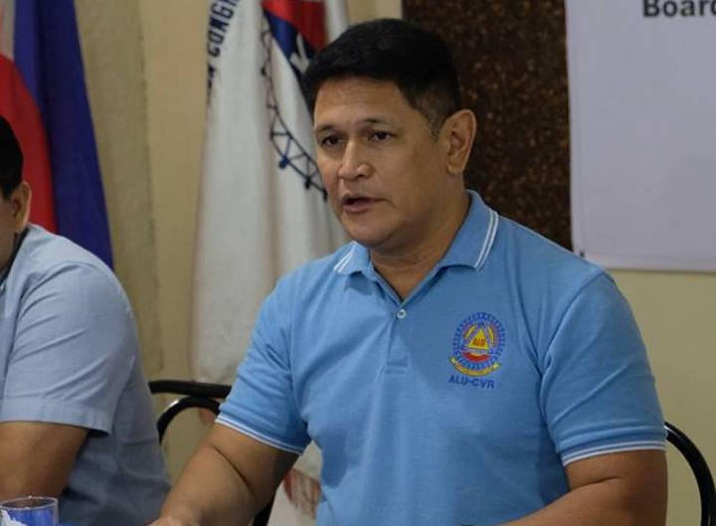 مؤتمر النقابات العمالية في الفلبين ريموند مندوزا (مانيلا بولييتين)