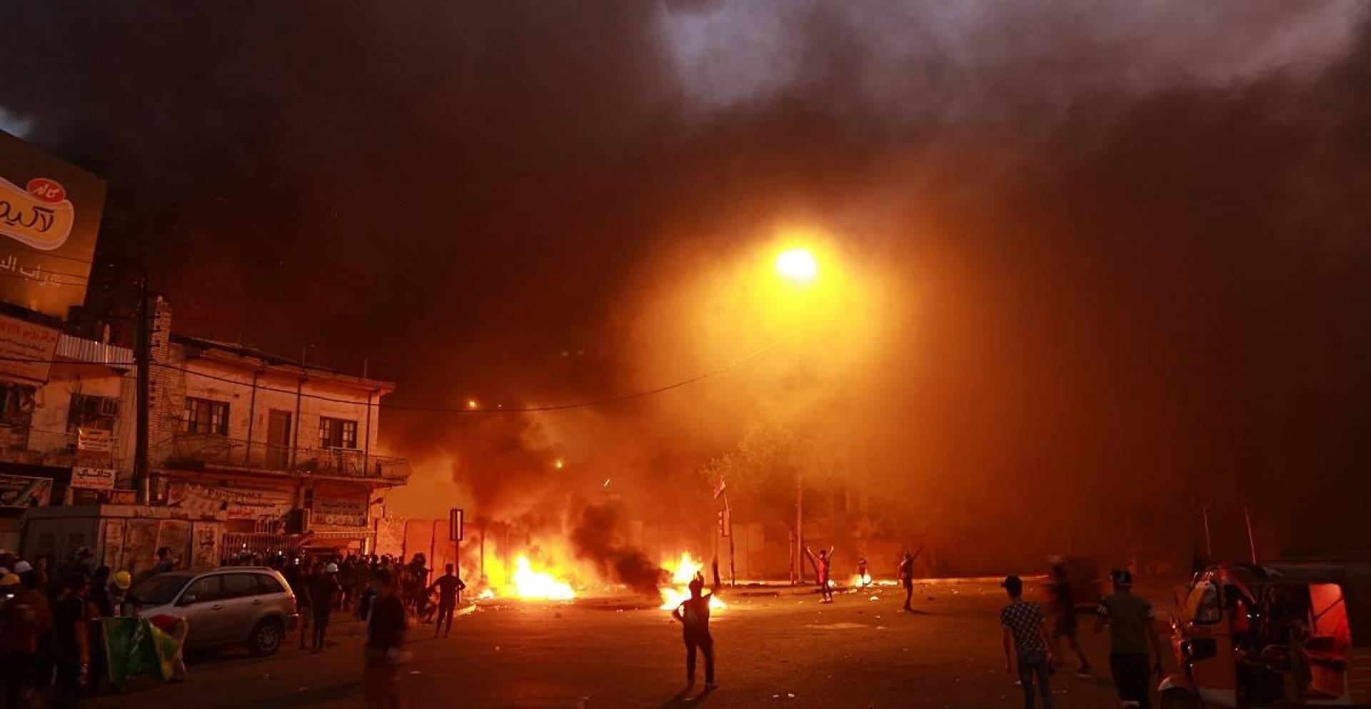 انفجارات عنيفة تهز العاصمة بغداد