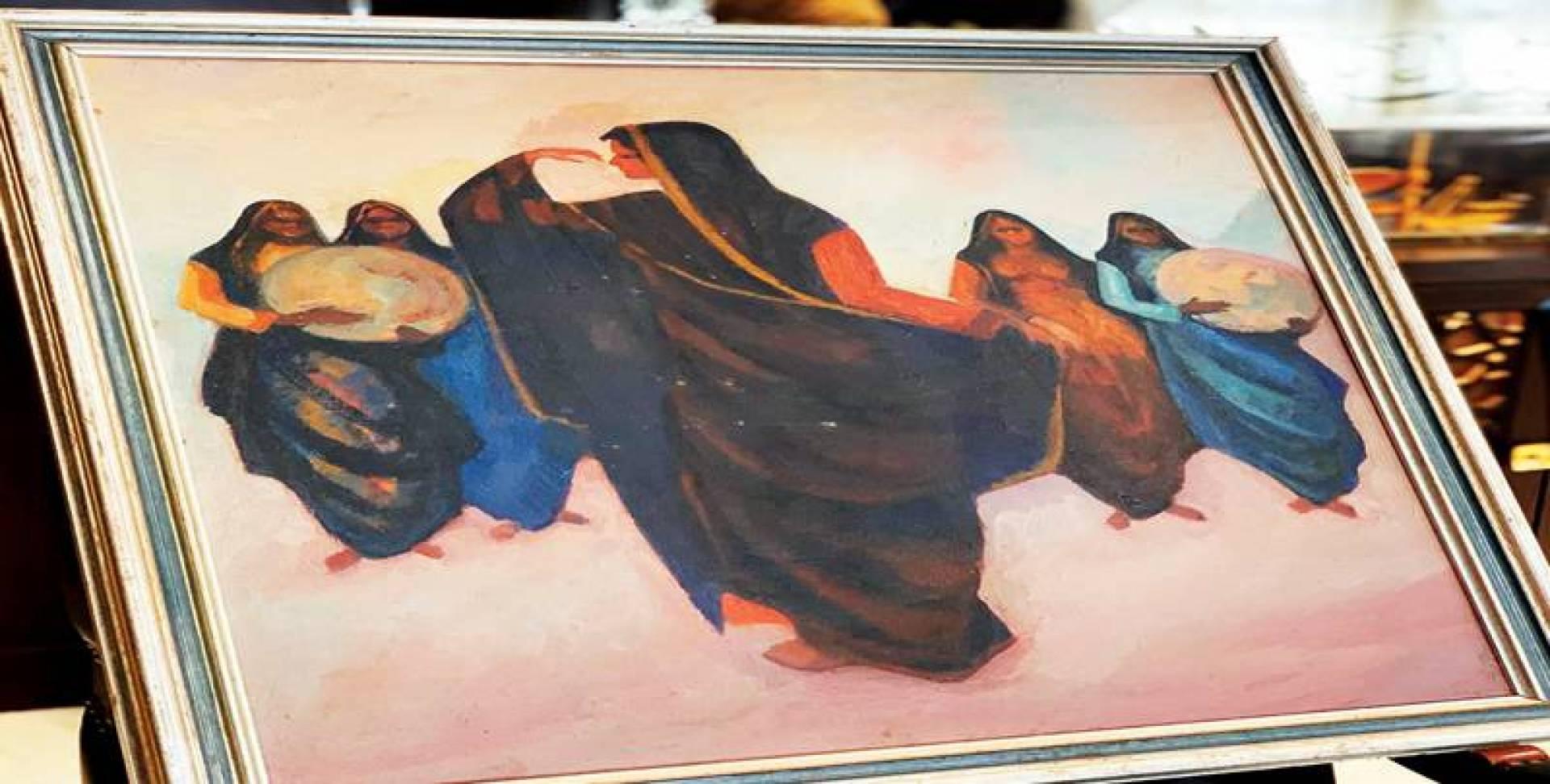 لوحة «رقصة الخماري» تظهر بعد 30 عاماً