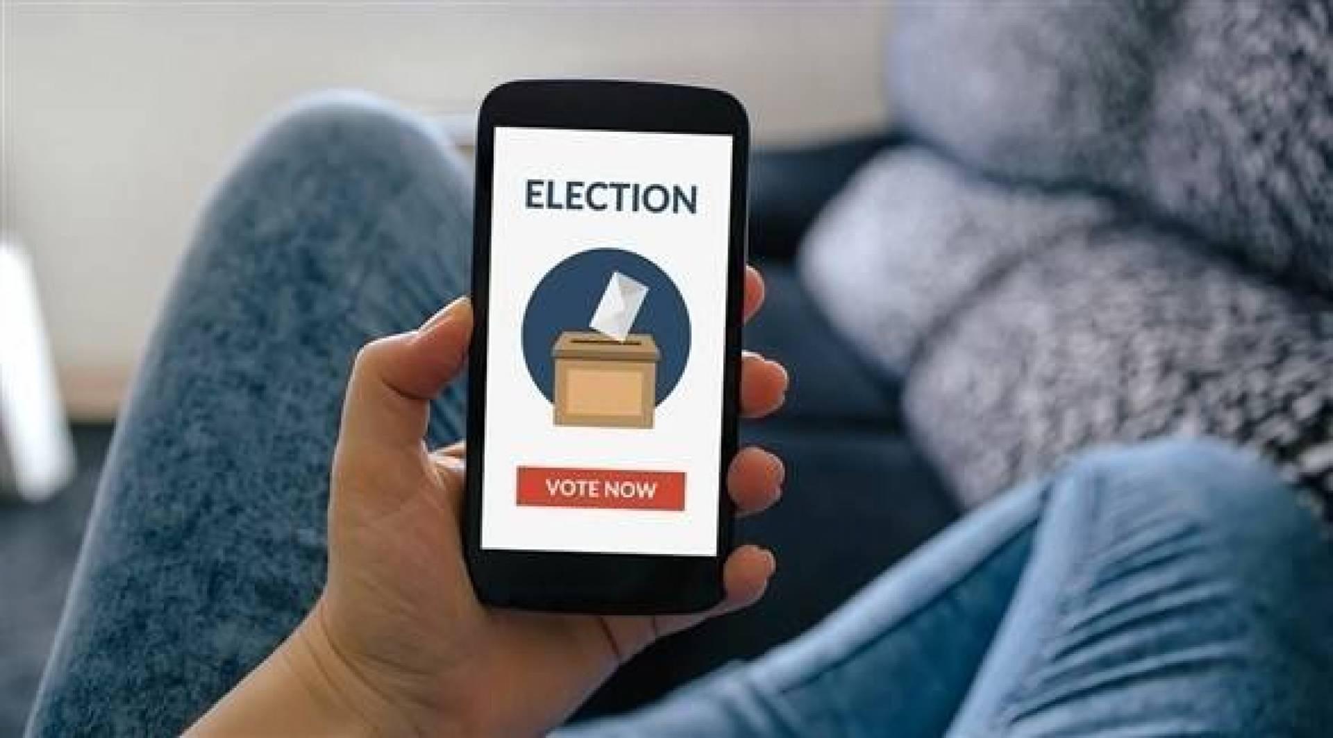 التصويت بواسطة الهواتف الذكية أشبه بمجازفة في الولايات المتحدة