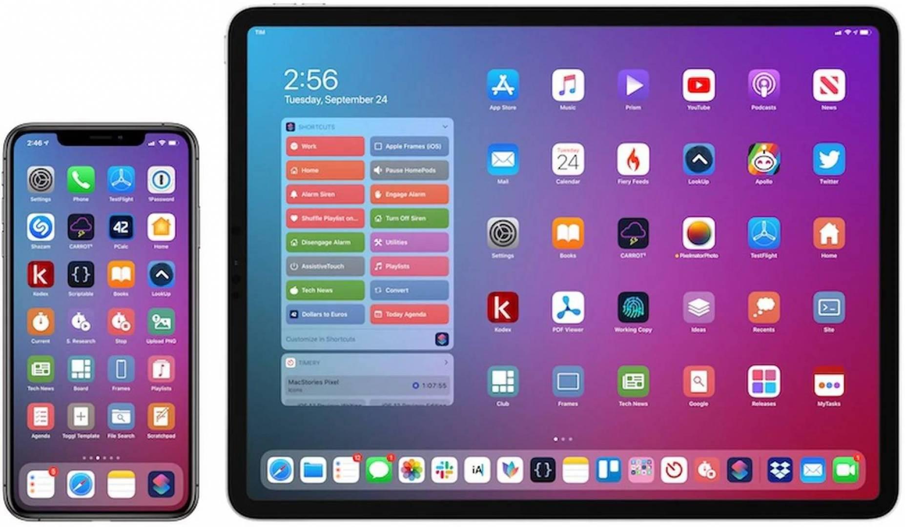 آبل: تعزيز أجهزة آيفون وآيباد بـ 38 تطبيقاً خارجياً للمنافسين