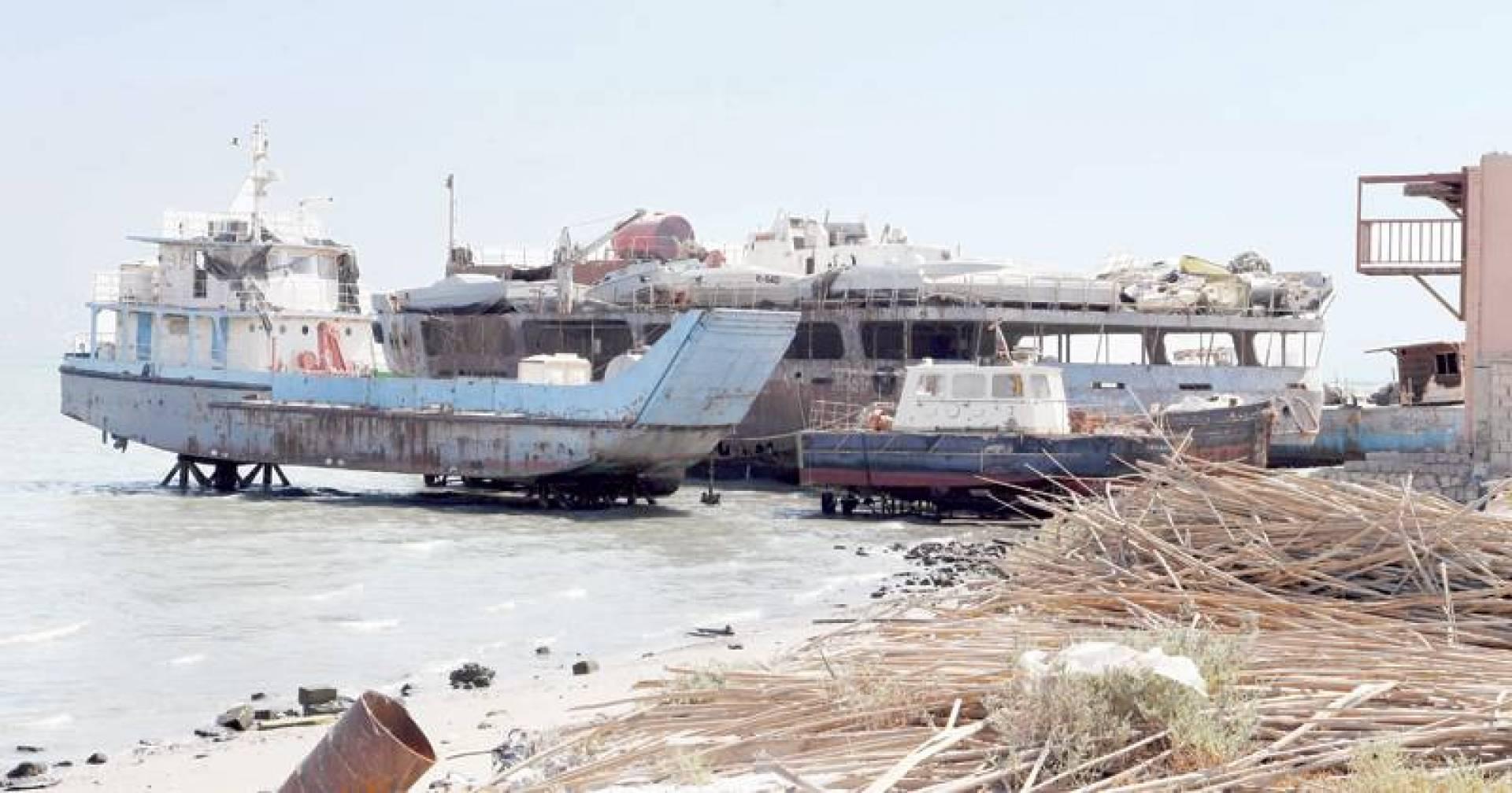 «القبس» تنشر خطة إزالة السفن في «عشيرج»