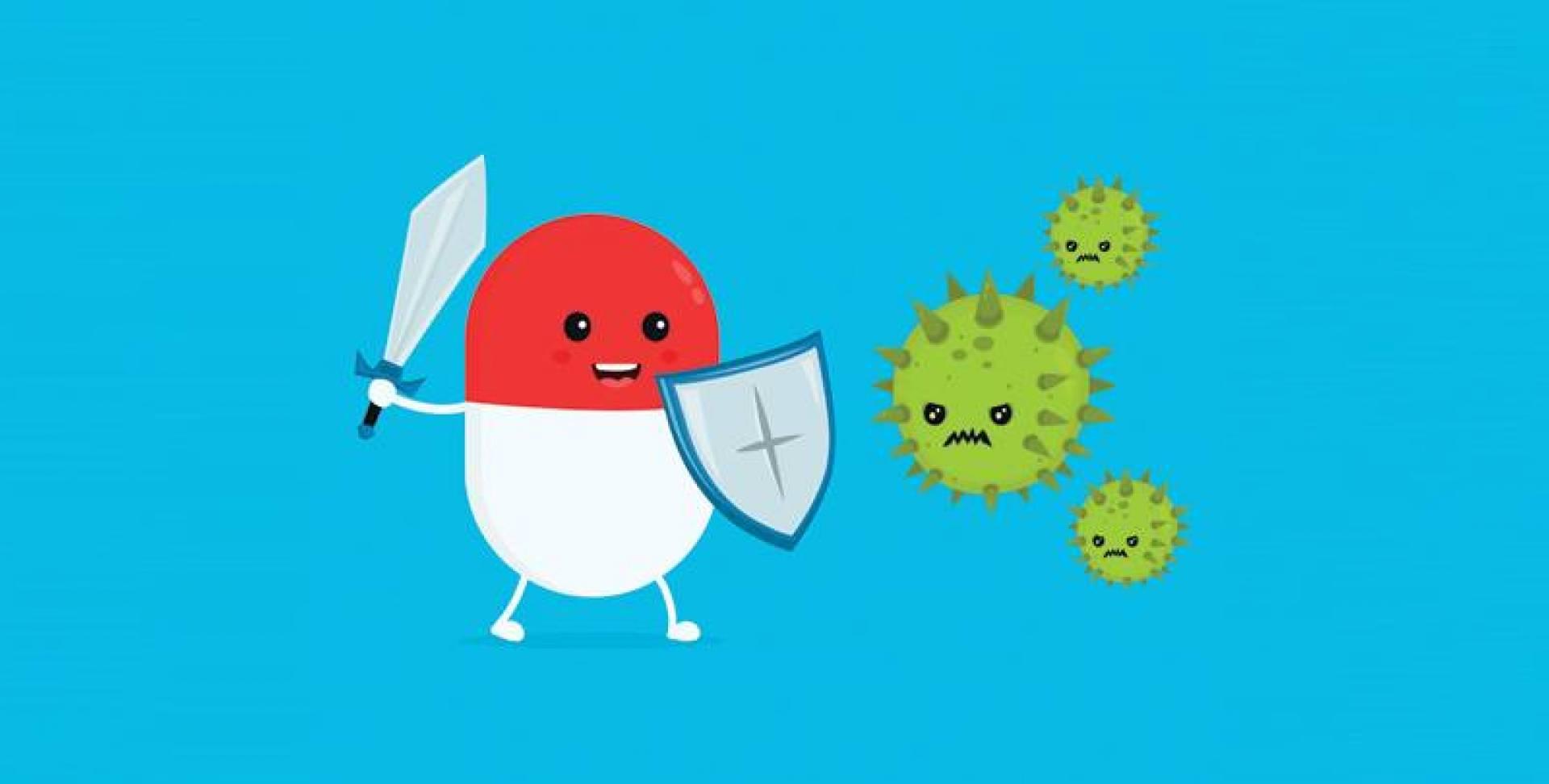 اكتشاف «مضاد حيوي» يقتل البكتيريا المقاومة للعقاقير