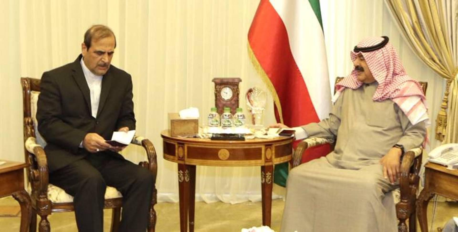 الجارالله بحث الأوضاع مع سفير إيران