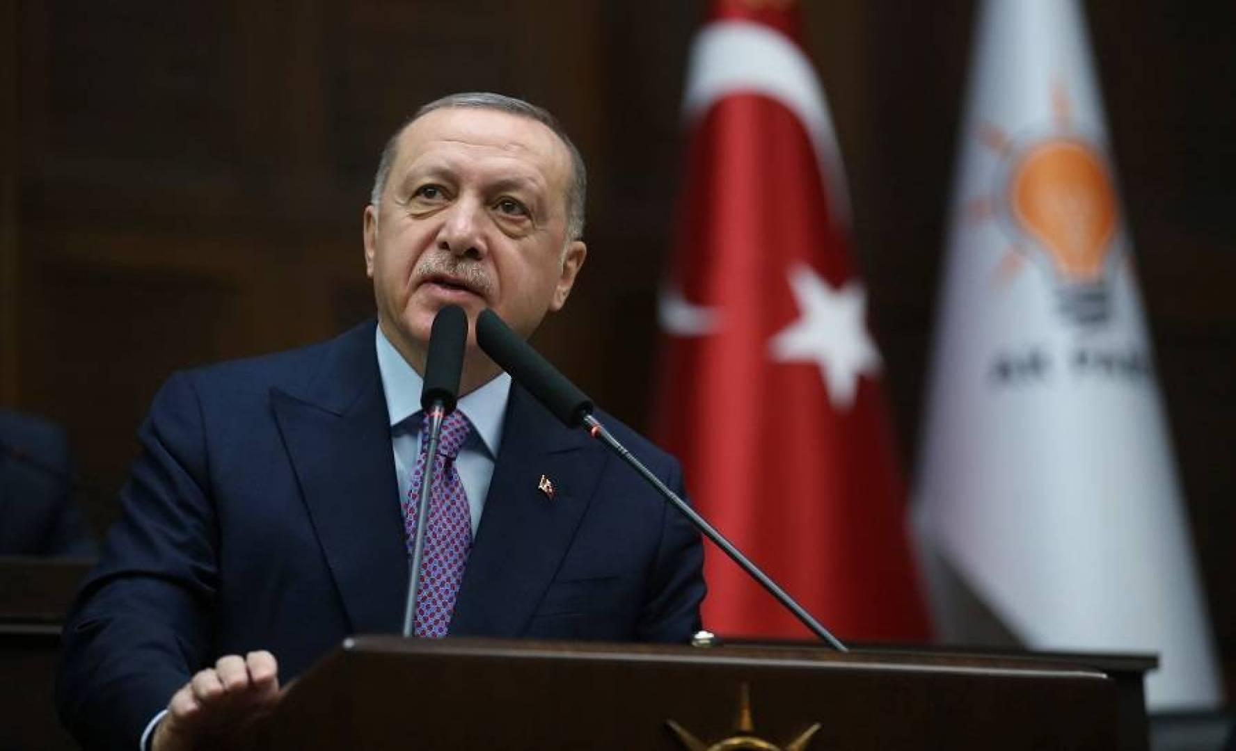إردوغان: تركيا لن تتراجع قيد أنملة في إدلب