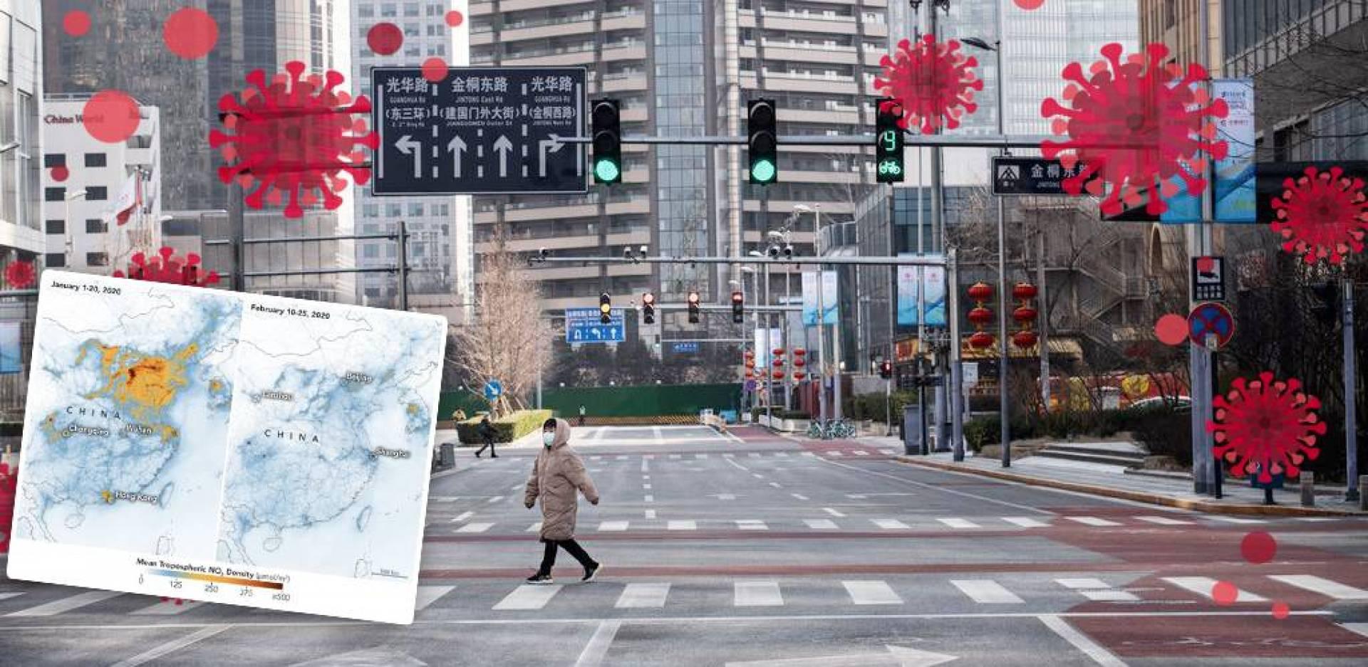 ديلي ميل: «كورونا» قلل مستويات تلوث الهواء في الصين