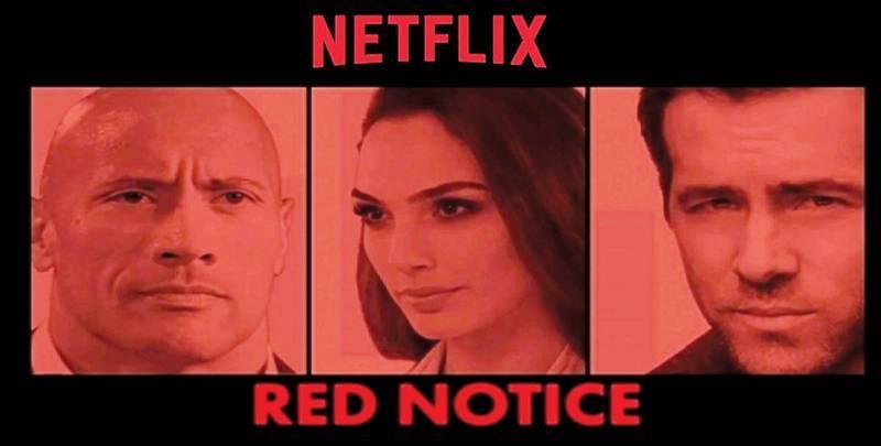 نقل تصوير فيلم Red Notice من إيطاليا.. بسبب «كورونا»