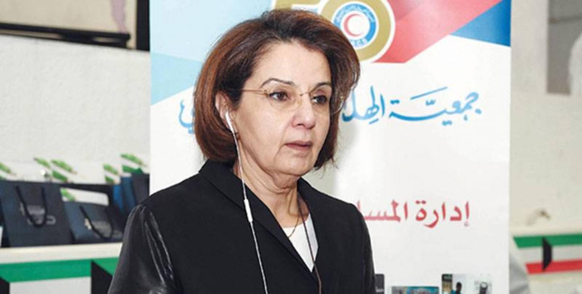 مها البرجس رداً على مقاطع فيديو لمحجورين: «النعمة زوالة ولنحمد الله على كويت العز»