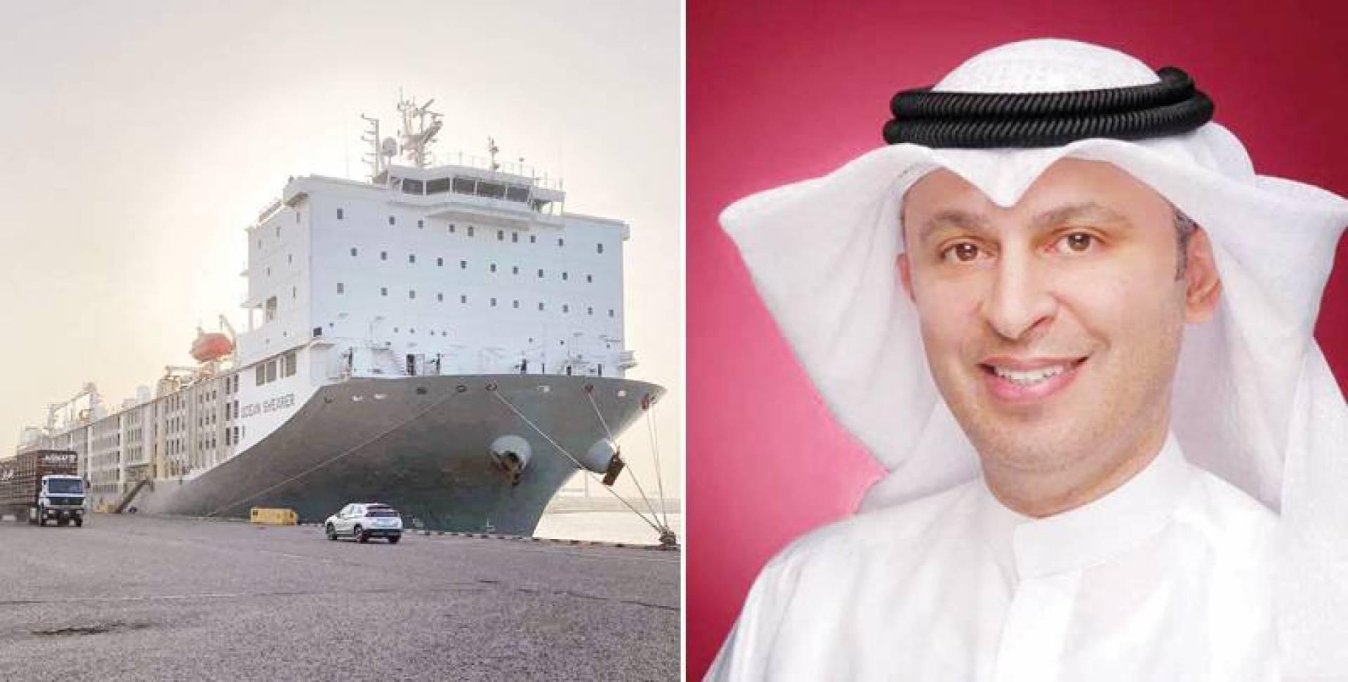 أسامة بودي - السفينة الجديدة في ميناء الشويخ