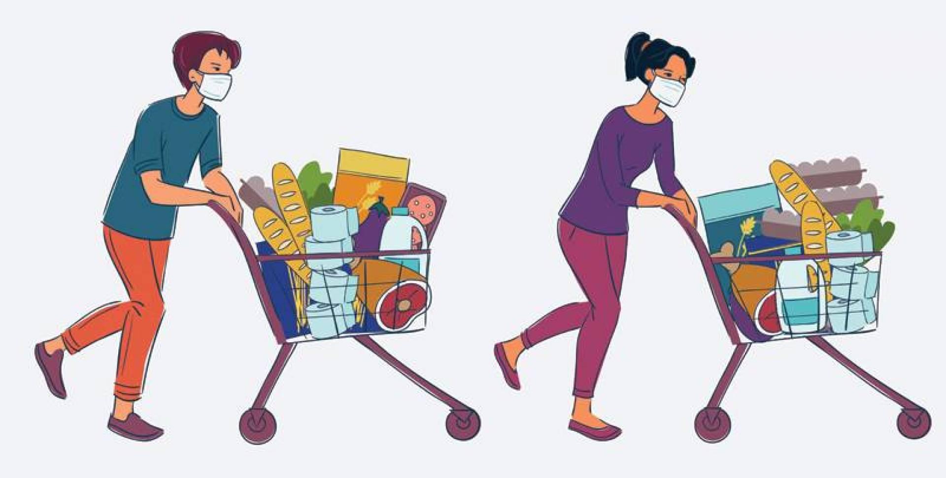 7 خطوات للتسوق بأمان وتقليل فرص الإصابة بـ«كورونا»