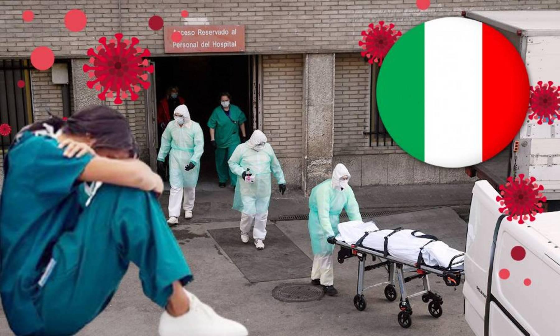 إيطاليا تبكي 683 حالة وفاة كورونا جديدة.. ليصل الإجمالي إلى 7503