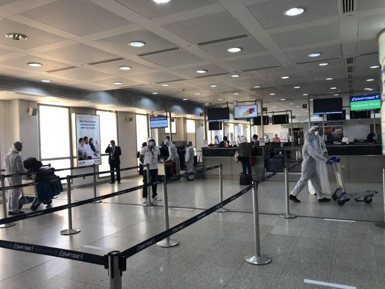 «الطيران المدني»: بدء تسيير الرحلة الثانية للمقيمين المصريين من مطار الكويت