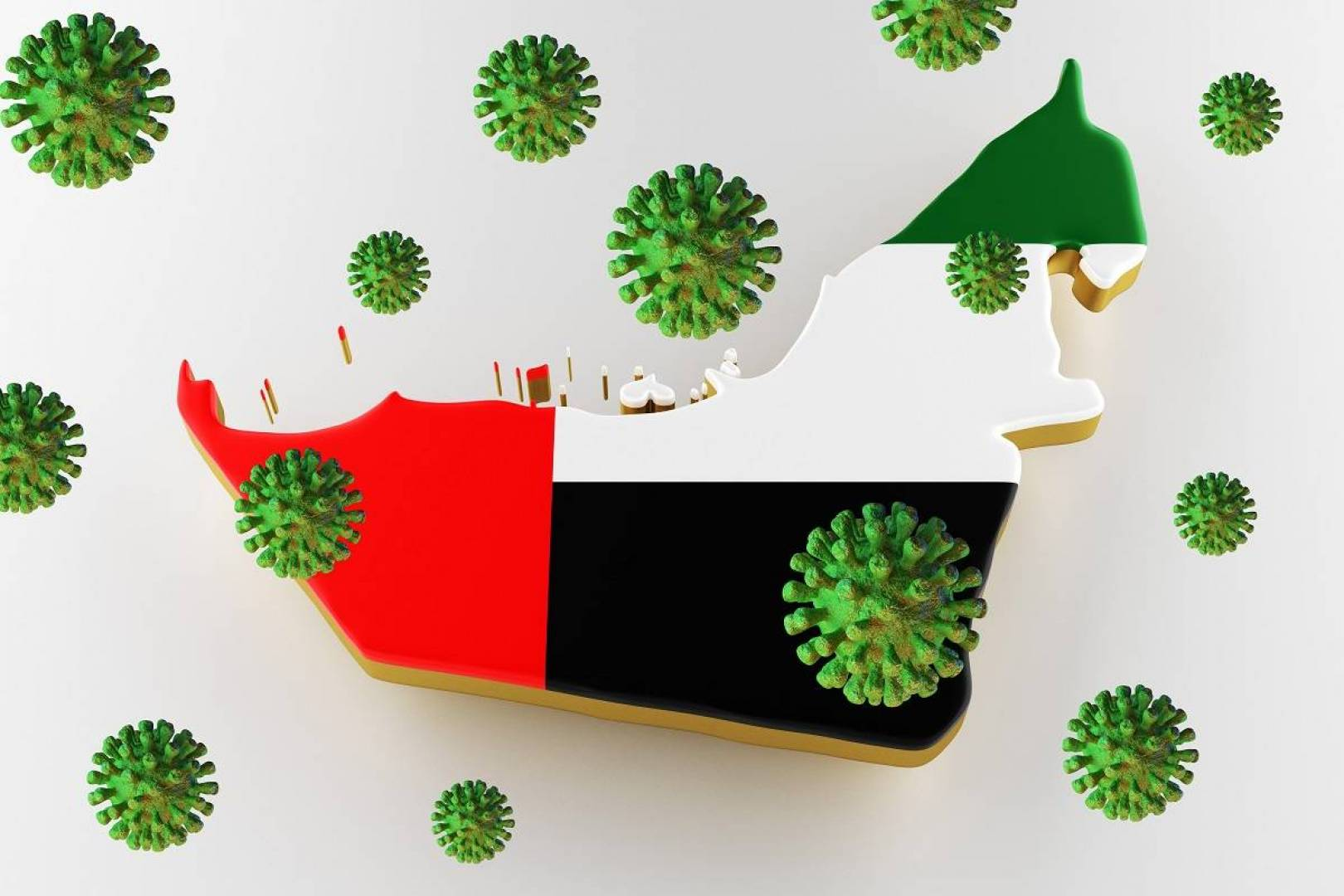 الإمارات: تسجيل 150 إصابة جديدة بفيروس كورونا وحالتي وفاة