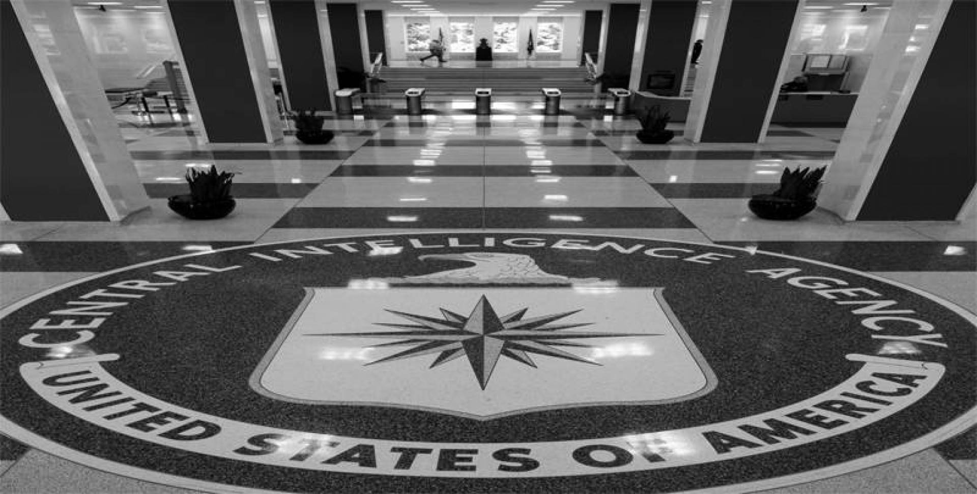 مدخل مبنى المخابرات الأميركية.. أرشيفية