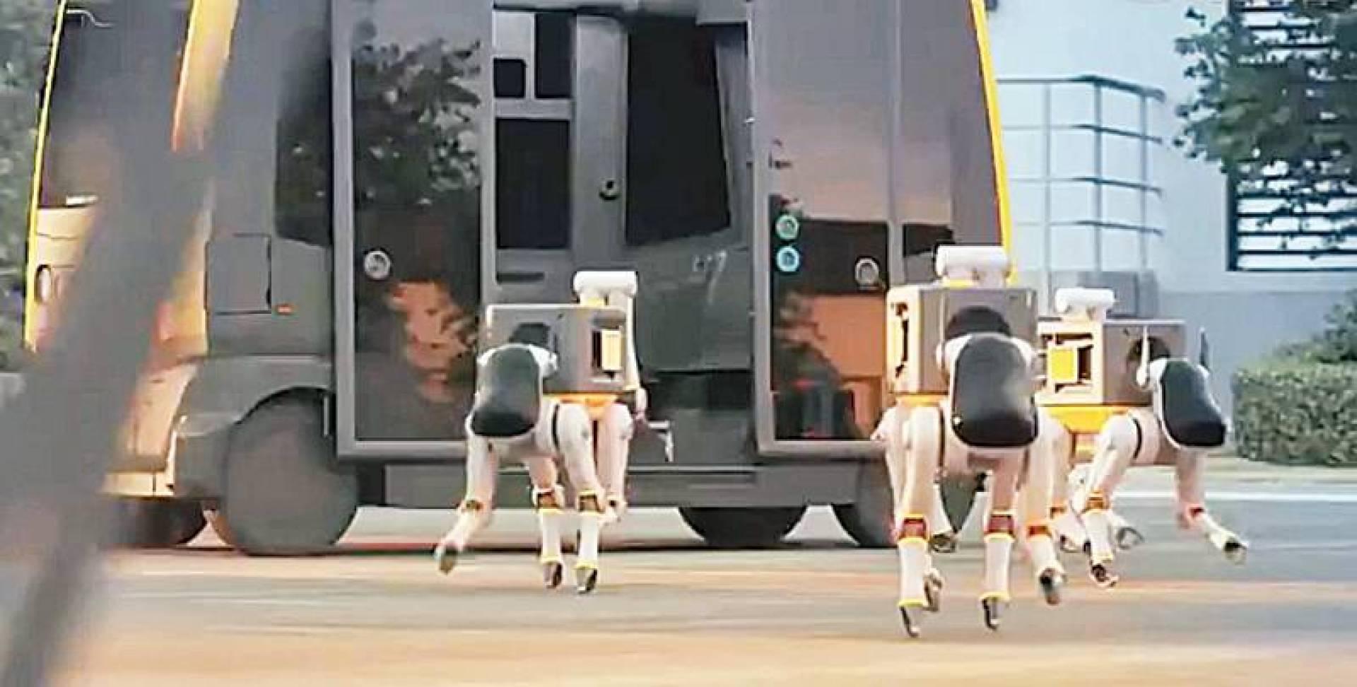 «كلاب روبوتية» توصل الطرود إلى المنازل