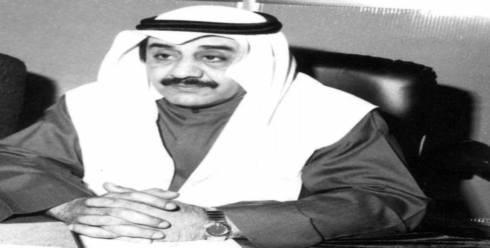 جاسم محمد الخرافي وزير المالية.. أرشيفية